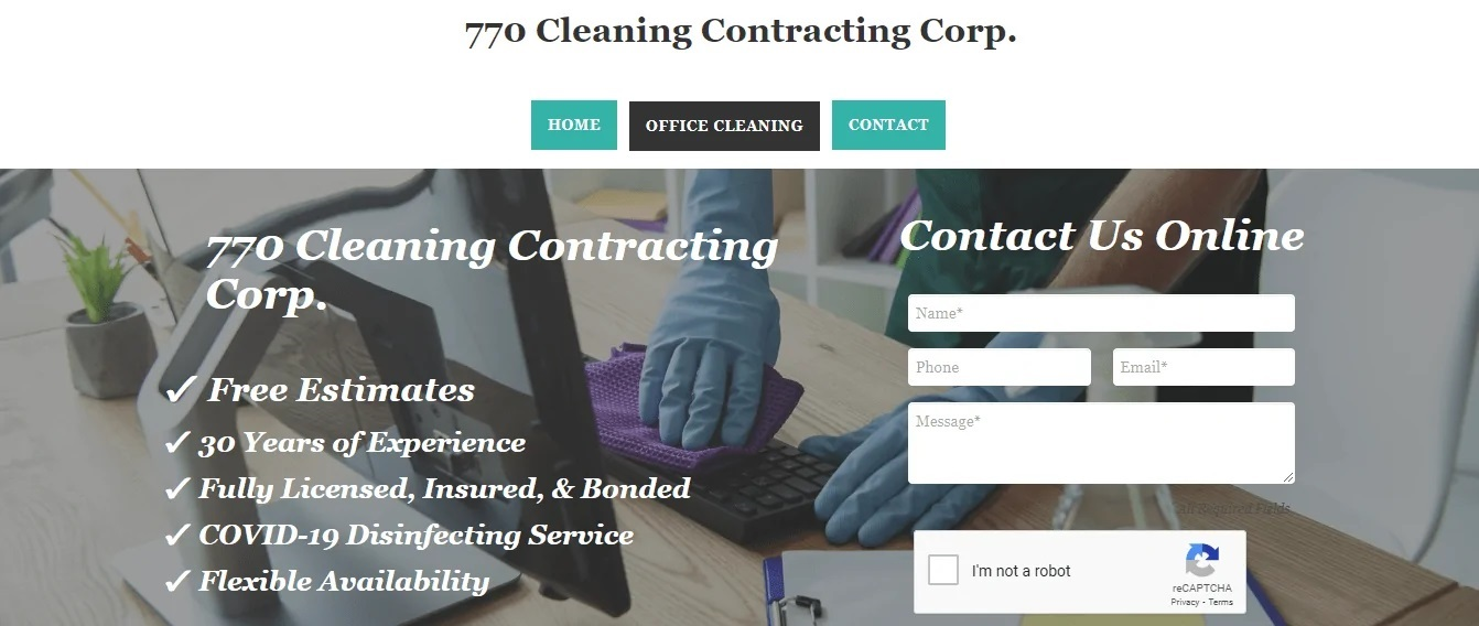 770 Cleaning Contracting Corp.